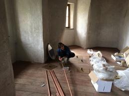 Erster Aufbautag von 'Azur Azur' von Evalie Wagner am 23. Mai 2016