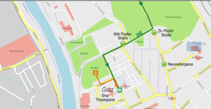 Wegbeschreibung/ How to get there