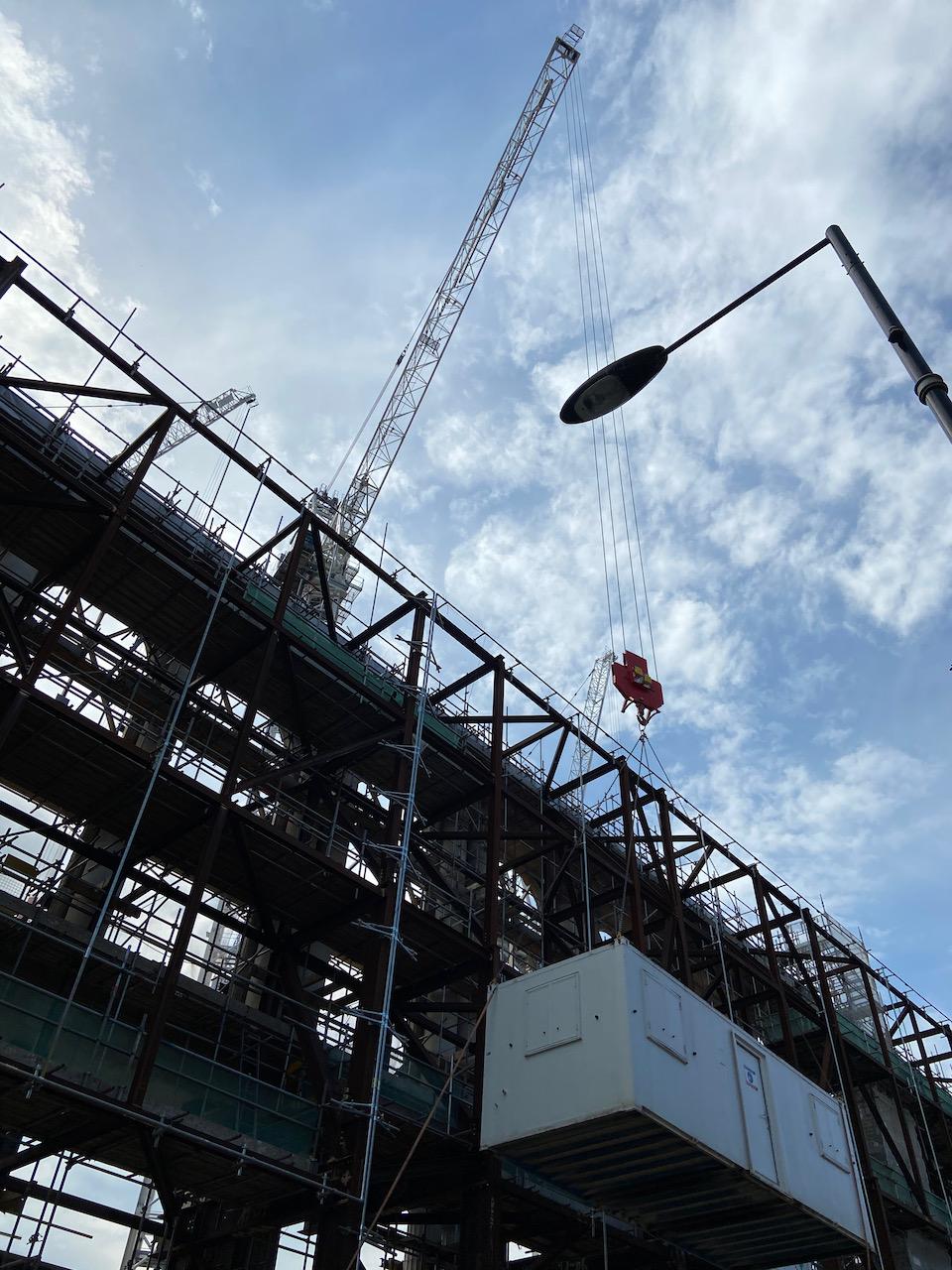 Under Construction, London June 2021