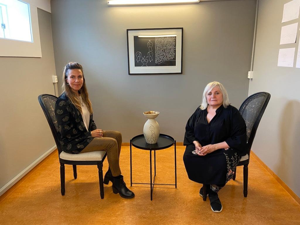 Ásdis & Helga, Heads of Multis Gallery, Reykjavik, Iceland